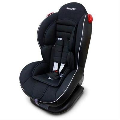 Автокресло Welldon Smart Sport Isofix Черное (BS02N-TT01-001)