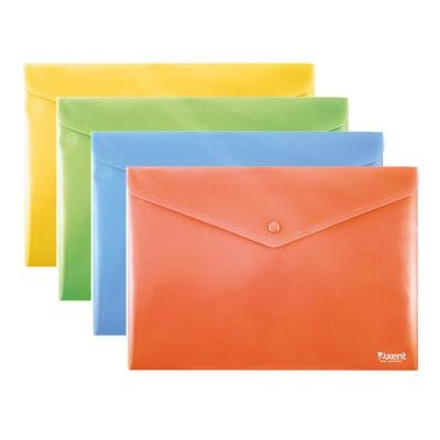 Папка - конверт Axent B5+, assorted colors (1413-20-А)
